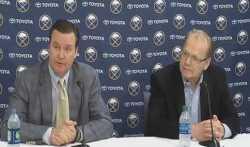 Sabres press conference